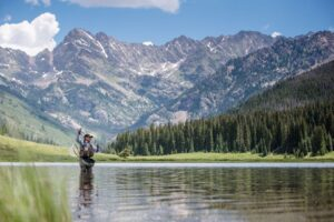 Activities at piney river ranch in vail for Vail lake fishing