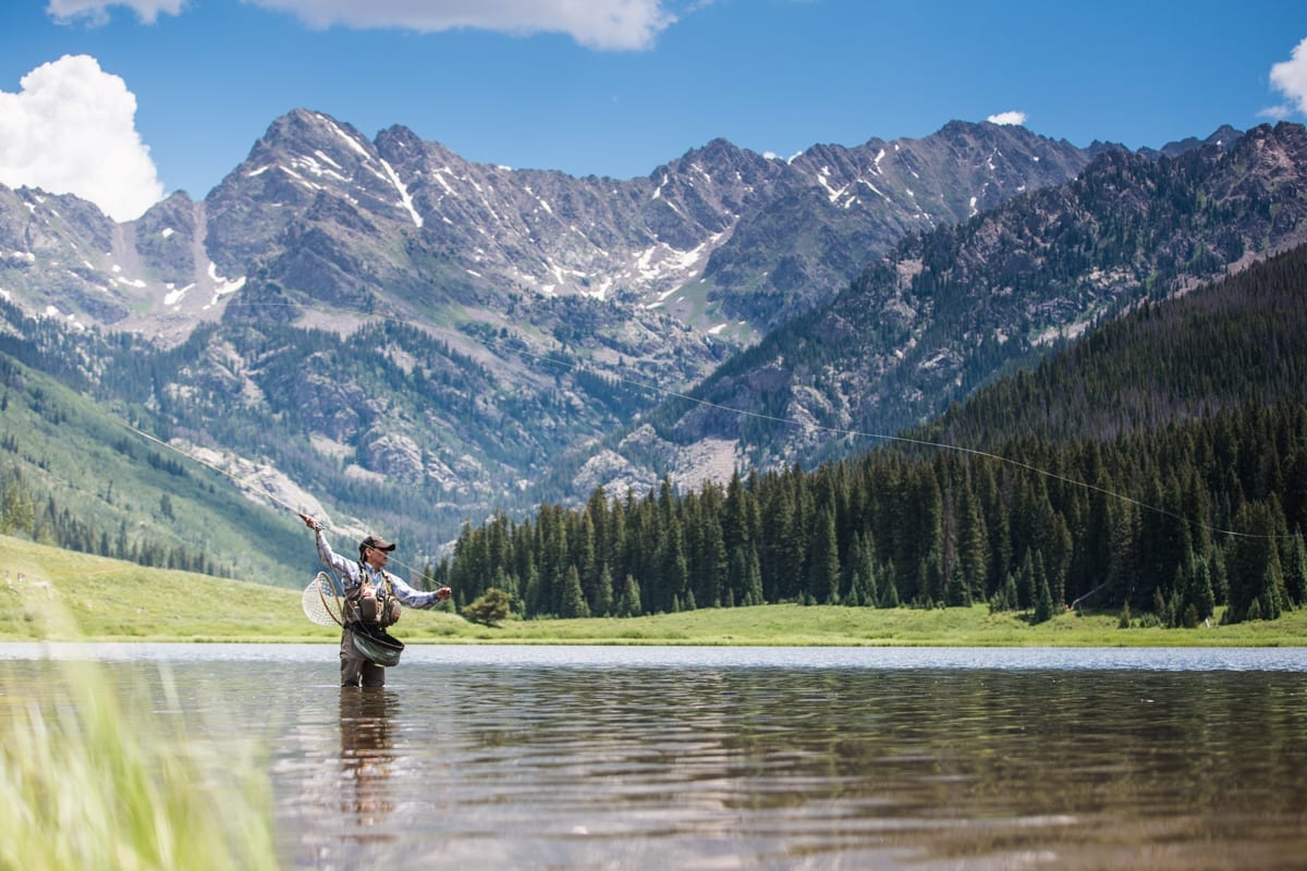 Piney river ranch vail colorado things to do for Vail lake fishing
